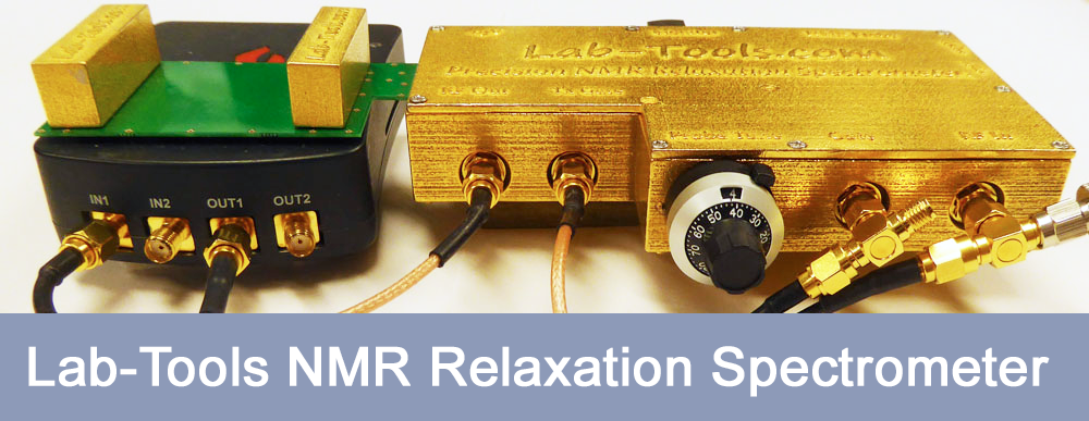 Precision highly compact NMR Relaxation Spectrometer.